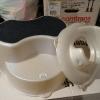 rotho Toilettenaufsatz / WC- Sitz perl vanille