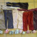 Baby Kleiderpaket Shirts Hosen Gr 80 86 Mädchen