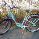 Mädchen-Fahrrad PUKY Skyride 24 Zoll, 7 Gänge