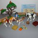 Playmobil 5227 Pferdekoppel und 5229 Voltigier-Training