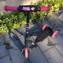 Kinderroller Hudora Joey Pink-Schwarz 3 Räder