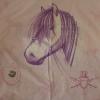 *** Kinder-Bettwäsche 135x200 Pferde-Motiv ***