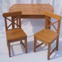 Kindertisch, 2 Stühle