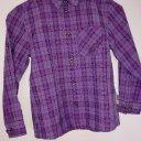 Outdoor Hemd Jack Wolfskin (5,-€)  für Kinder, Größe 128, UV Schutz, lila