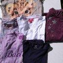 6 Shirts (3 Langarm u. 3 Kurzarm) für Mädchen Größe 122/128 (4,50 €), gut erhalten