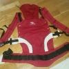 MANDUCA-Babytrage in rot /neuwertig