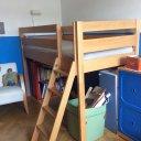 Kinderhochbett Buche massiv