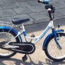 Jungs-Fahrrad PUKI Polizei