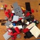 Lego City 60084 Rennmotorrad Transporter