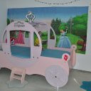 Prinzessin Kutsche als Bett mit Kommoden 350,00€