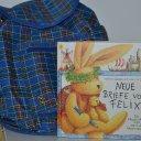 FELIX der Hase Buch mit Rucksack