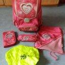 Schulranzen 5 teilig für Mädchen von Hama Step by Step, Preis: 20,00