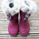 Gefütterte Gummistiefel für den Winter Gr 24