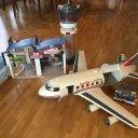 Playmobil Flughafen mit Tower und flugzeug