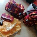 Satch Schulranzen, Sporttasche, Regenschutz passendes Federmäppchen