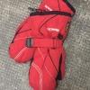 Roeckl Schnee-Fäustlinge, rot, Größe 4, super erhalten