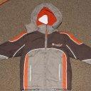 Neue Jacke für Jungs khaki mit Eisbärmotiv Gr. 86/92