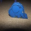 Stifthalter blauer Elefant aus Sendung mit der Maus