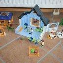 Playmobil 4343 Tierklinik mit Gehegen / Wie NEU!