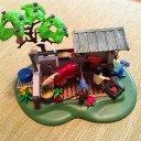 Playmobil Pferde Pflegestation Waschplatz Schmiede
