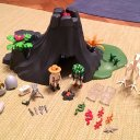 Playmobil Saurier Triceratops Vulkan