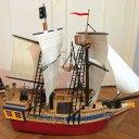 Playmobil Piraten Schiff / Tarnschiff und Piraten Ruderboot