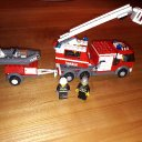 Lego City 7239 - Feuerwehrlöschzug, nwt.