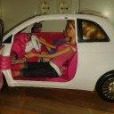 Barbie Cabrio und 2 Barbies