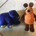 Maus und Elefant -Sendung mit der Maus - Plüschtiere/Kuscheltiere