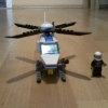 LEGO Polizei Hubschrauber 7741