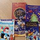 Weihnachtsbücher....Malbücher....