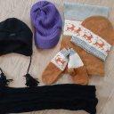 Mützen, Schal, Handschuhe und Stulpen