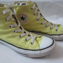 CONVERSE 37.5  Chucks high light yellow