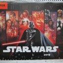 STAR WARS 2019 Wand Kalender mit Poster