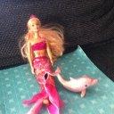 Barbie Meerjungfrau mit Delfin