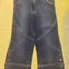 Mädchen Caprihose Jeans 122 Palomino c a neu