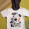 Jungen T-shirt Shirt c a Palomino 110 weiß