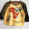 Jungen Langarmshirt Shirt 86/92 Tiere