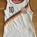 Jungen Tanktop Shirt Deutschland Fußball 128 Unterhemd