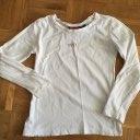 Mädchen Langarmshirt Mexx 110 116 weiß Longsleeve Shirt
