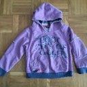 Mädchen Pullover Kapuzenpullover 104 lila Sarabanda