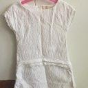 Kleid Zara weiß 116 Mädchen festlich