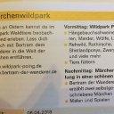 Kinder Eintägige Erlebnisreisen Märchenwildpark 5-8 J.