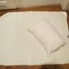 Kinderbettdecke und Kopfkissen