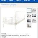 Metall Kinder Bett von Ikea