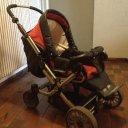 Wir verkaufen unseren Hartan Topline S Kinderwagen mit Softtragtasche