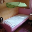 Mädchenbett,Kinderbett mit Matratze