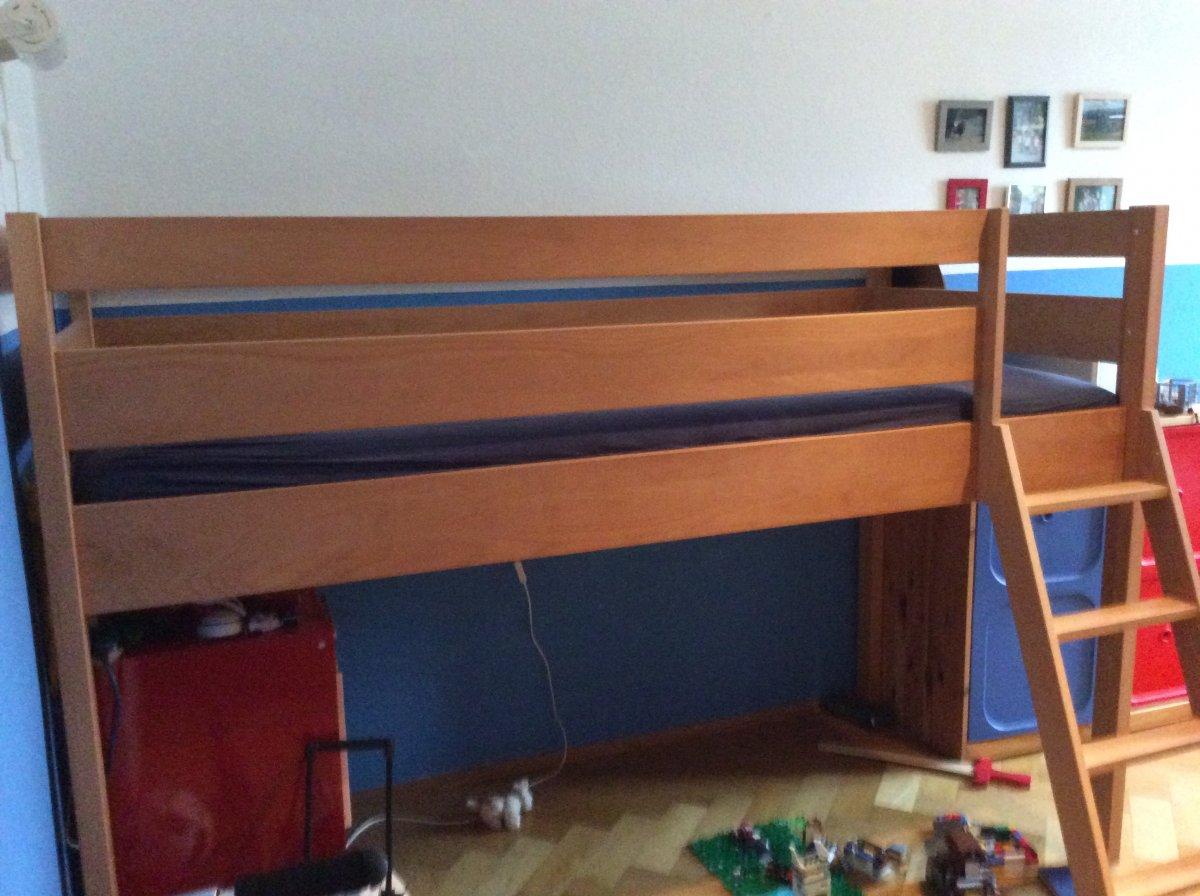 hochbett vollbuche m belum suche biete. Black Bedroom Furniture Sets. Home Design Ideas